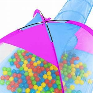 Kinderzelt Mit Bällen : kinderzelt mit tunnel 200 b lle spielzelt b llebad pop up zelt krabbeltunnel ebay ~ Watch28wear.com Haus und Dekorationen