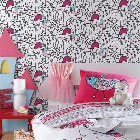 dessin mural chambre fille deco chambre de fille quelle dco pour la chambre