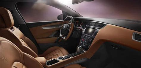 citroen unveils ds wr suv interior  china citroenvie
