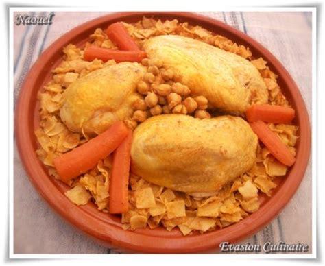 cuisiner poulet entier nwasser au poulet plat tunisien de pâtes en sauce