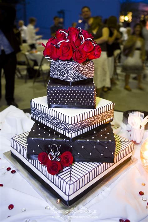 Lace Stripes Quilting Dots Black And White Wedding