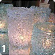Glass Candle Holders Diy Perserving Jar Satine Paint by 1000 Images About Diy Candle Holders On Diy