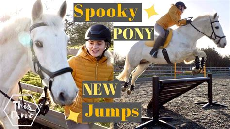 show jumps   spooky pony ad  esme youtube