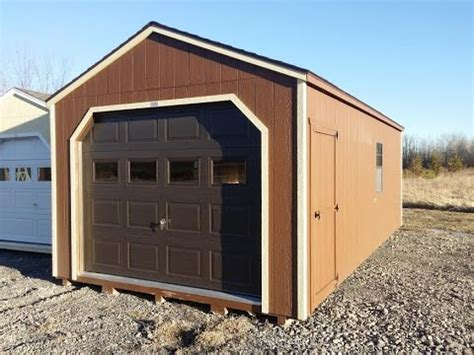 Shed For Sale Ottawa by 12 X 24 Garage Prefab Garage Portable Garage Sheds