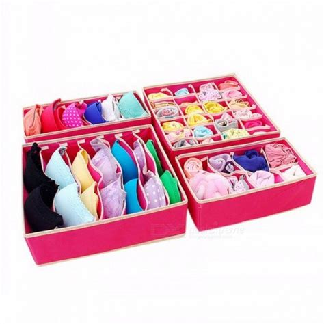 Jxsltc Underwear Bra Organizer Storage Box Drawer Closet