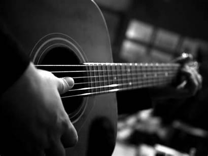 Monochrome 4k Guitar Playing Standard Bestwallpapers Wallpapers