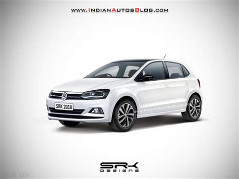 Volkswagen Ameo 2020 by 2019 Vw Polo Facelift Iab Rendering