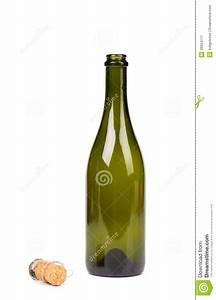 Bouteille En Verre Vide : bouteille en verre verte vide de champagne et de li ge photographie stock libre de droits ~ Teatrodelosmanantiales.com Idées de Décoration