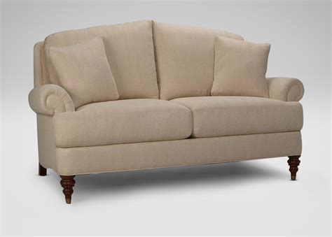 Ethan Allen Sofa 2 Cushion by Hyde Two Cushion Sofa And Loveseat Ethan Allen