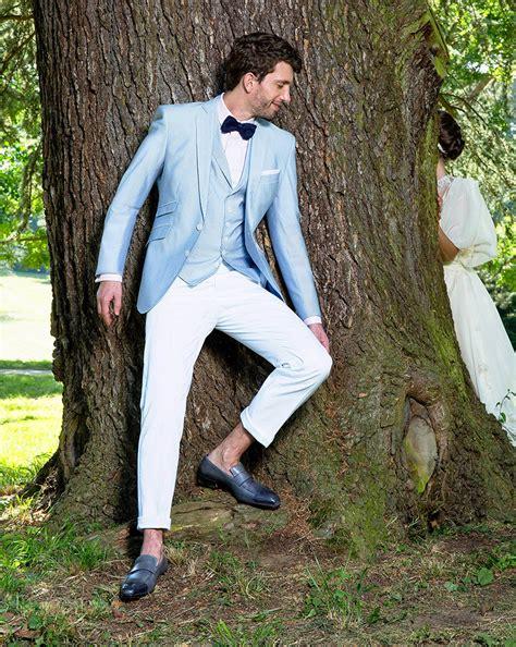 tenue homme invite mariage chetre chic 10 costumes bleus pour mariage