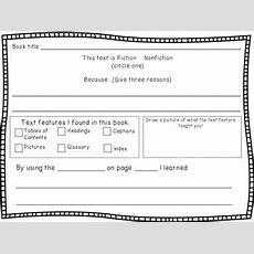 Nonfiction Text Features Worksheet By Marcella Biordi Tpt