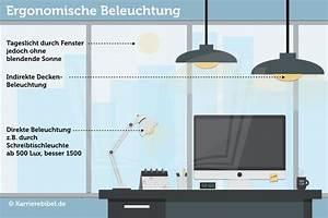 Beleuchtung Am Arbeitsplatz : ergonomische beleuchtung am arbeitsplatz richtiges licht ~ Orissabook.com Haus und Dekorationen