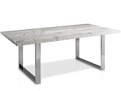 Evolución Dining Table with Glass Top and Square Metal Legs : Casanova Gandía