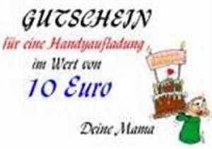 Gutschein Dein Handy : handyaufladung als gutschein vorlagen muster gutscheinideen ~ Markanthonyermac.com Haus und Dekorationen