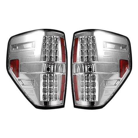 2014 f150 tail lights 2009 2014 ford raptor f150 recon clear led tail lights
