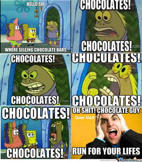 Chocolate Spongebob Meme - spongebob chocolate old lady meme pictures to pin on pinterest pinsdaddy