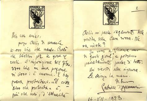 Ufficio Collocamento Bolzano by Lettere D Annunzio 28 Images Lettere D A Barbara Leoni