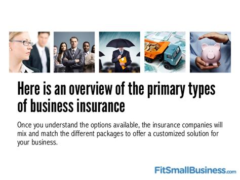 The Basics Of Small Business Insurance