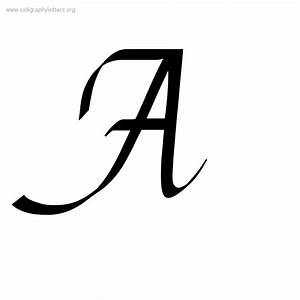 Casual Chancery Cursive A-Z Calligraphy Lettering Styles ...