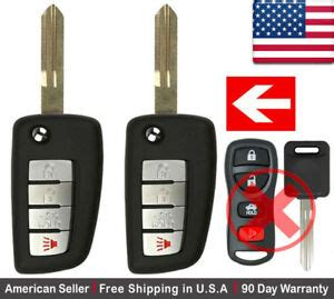 New Replacement Keyless Flip Remote Key Fob For Nissan