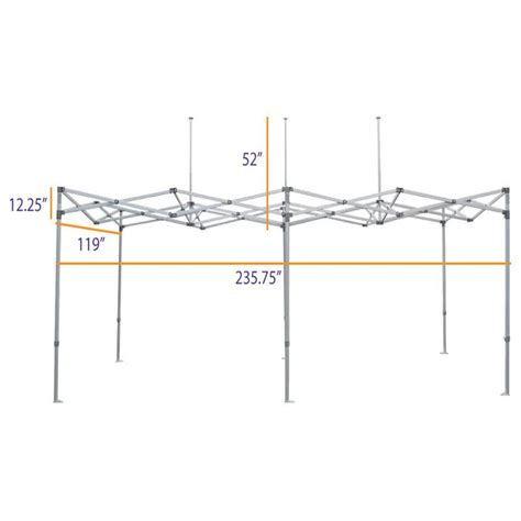 heavy duty steel pop  canopy tent replacement frame cl impact canopies usa