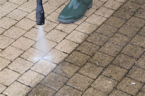 when was the last time you pressure washed your patio