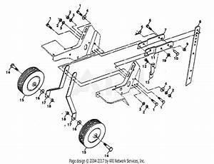 Poulan Ppft3c Tiller Parts Diagram For Wheel And Depth Stake Assembly