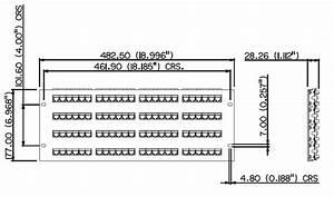 Cat5e Universal 96 Port Patch Panel