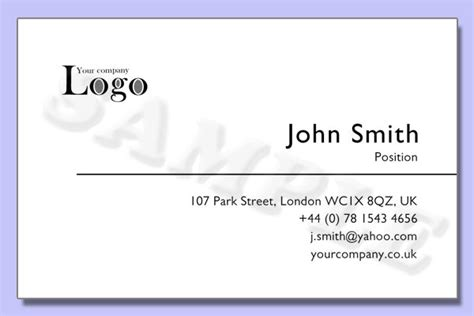Business Card Template No.4