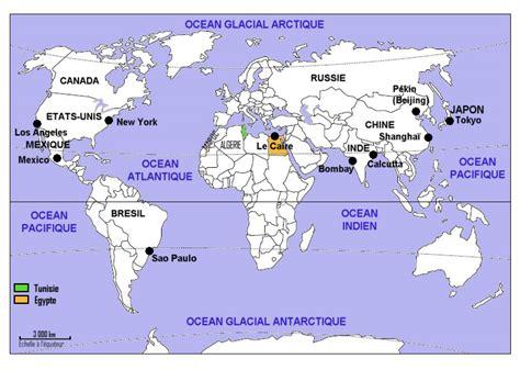 Carte Du Monde Villes Mondiales by Juillet 2015 Laclassehgnumerique