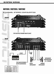 Amazon Com  Lanzar Dct252 3000 Watt 2 Channel Full Fet Class Ab Amplifier  Car Electronics