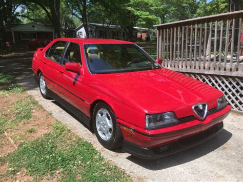 1992 Alfa Romeo 164s For Sale In %xfieldsitemlocation