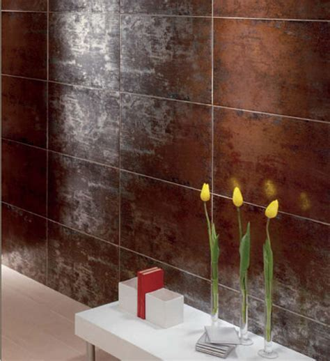 Glazed Porcelain Tiles Titanio by Mallol   the metallic