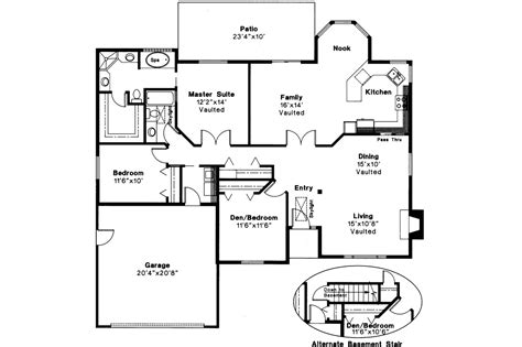 floor plans in shingle style house plans laramie 30 010 associated designs
