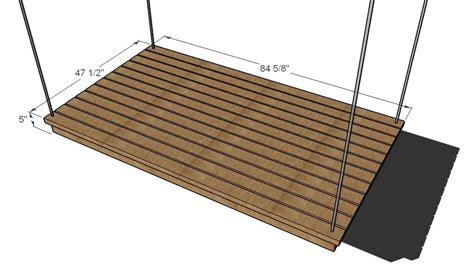 hanging bed plans top 28 hanging bed plans ana white hanging bunk beds diy projects ana white easiest