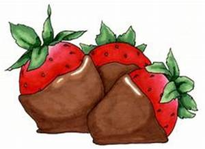 Chocolate Covered Strawberries Clipart (43+)