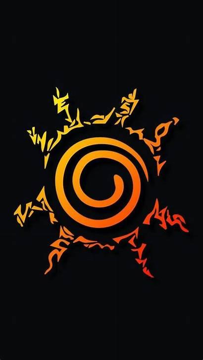 Wallpapers Konoha Mobile Naruto Iphone Symbols