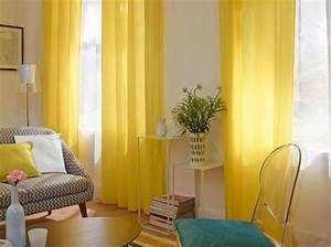 Tendance Rideaux Salon : rideaux jaune fen tre castorama rideaux voilages ~ Premium-room.com Idées de Décoration