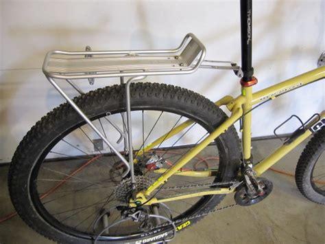 topeak bike rack rear rack topeak or surly mtbr