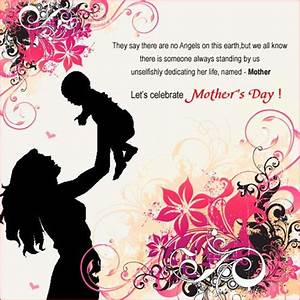 In Honor of Mothers!Emotional Mothers Day Designs | Designbeep
