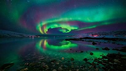 Sky Night Aurora Northern Lights Borealis Starry