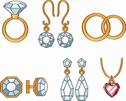 Cartoon Clipart Jewelry Jewellery Earring Clip Transparent