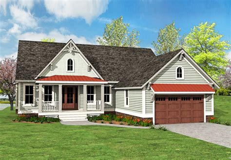 Country Craftsman House Plan