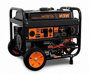 Wen Df475 4750 240v Dual Fuel Portable Generator