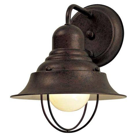 outdoor wall light  antique bronze finish
