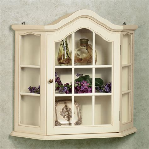 antique cabinets with glass doors wall mounted curio homesfeed