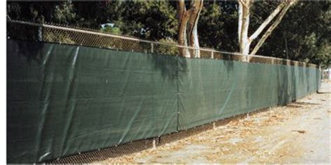 field fencing shade sail