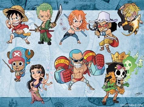 34 Best One Piece Chibi Images On Pinterest