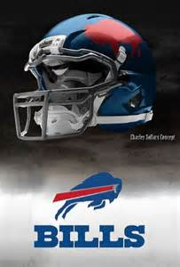 Buffalo Bills Concept NFL Helmets