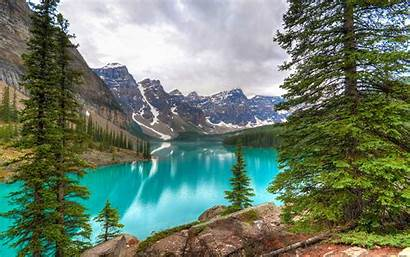 Canada Banff National Park Natural Lake Moraine